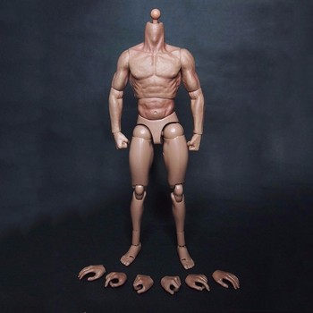 In stock 1/6 Scale 12 Muscular Male Action Figure Body X-men Logans for 1:6