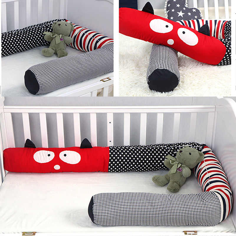 Baby Crib Bumper Newborn Pillow Cushion Bumper for Infant Bebe Crib Bedding Set Protector Cot Baby Room Decor Chichonera Bed