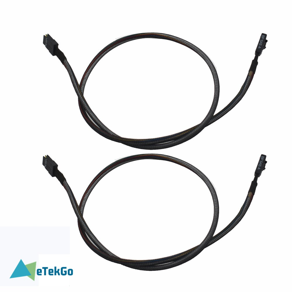 New SAS-A SAS-B SATA Cable For Dell Poweredge R610 R710 H700 M246M 0M246M models