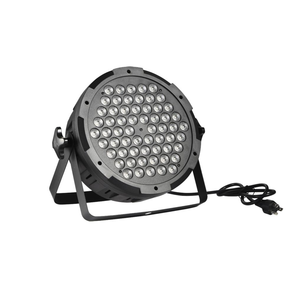 LED Flat Par 100W RGBW Muti Colors DMX Par Cans Disco Light Stage Wash Effect Lighting Laser Projector Dj Light Free Shipping