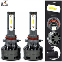 FUXUAN 2PCS H7 H4 H11 LED H13 9005/HB3 9006/HB4 H1 Car Headlight Kit 6000K Bulbs CSP Auto Front H3 880/881 H8 Fog Lamps