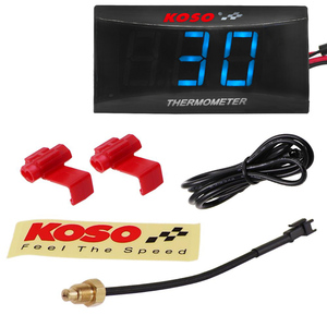 Image 3 - Motorcycle Digital Water Temperature Gauge  KOSO Mini  Moto Thermometer with 0~120 Centigrade Display for XMAX250 NMAX CB 400