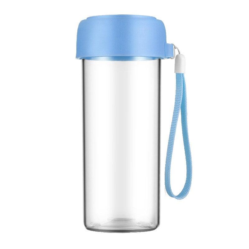 50 шт., портативная детская бутылка для воды, Подарочная рекламная чашка, заказной логотип, прозрачная Спортивная пластиковая чашка для воды,... - 5