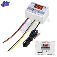 цена на DC 12V 24V 110V  220V  Digital LED Temperature Controller W3001 For Incubator Cooling Heating Switch Thermostat NTC Sensor