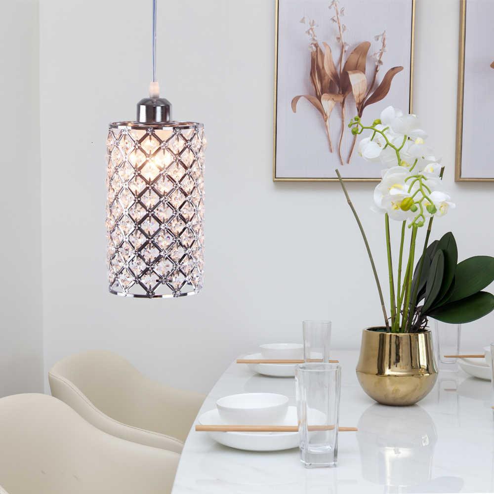 90 260 çağdaş kristal sarkıt aydınlatma avize tüp şekli Ac v kristal sarkıt aydınlatma kapalı yatak odası dekorasyon sıcak