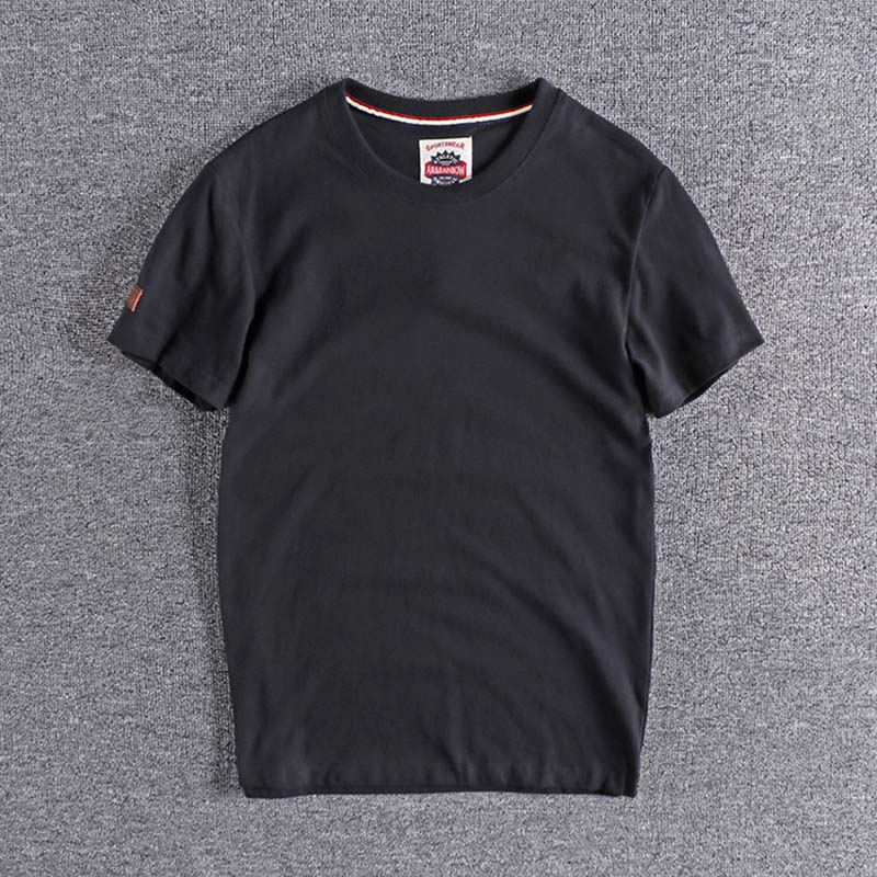 2020 New Arrival Short Sleeve European And American Men's T-shirt Plus Size High Quality Tops Tee For Promotion Wholesale T Sale