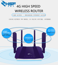 цена на 4G LTE CPE Mobile WiFi Wireless Router with SIM Card Slot Indoor 4G LTE CPE Wifi Routers FDD 300Mbps Wireless Router