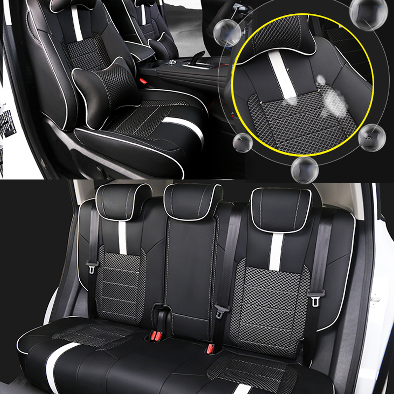 Lsrtw2017 Luxury Leather Car Interior Seat Cover For Haval F7 F7x Breathable Accessories
