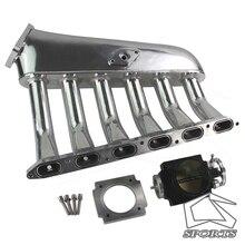 Fits For BMW E36 E46 M50 M52 325i 328i 323i M3 Z3 E39 528i Intake Manifold +80mm Throttle body