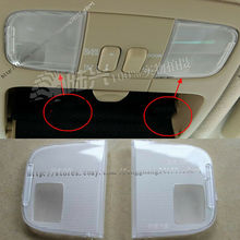 For TOYOTA Prado LC120 2003-2009 ABS Transparent Front Read the lamp cover 2PCS