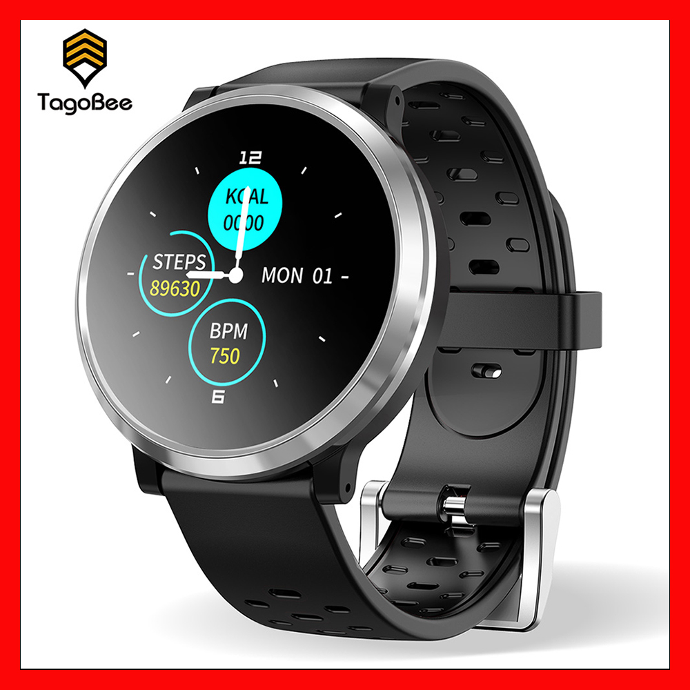 TagoBee Q68 Smart Bracelet Band Color Screen dynamic heart rate Sports outdoor Waterproof Fitness Bracelet  Android iOS Watch