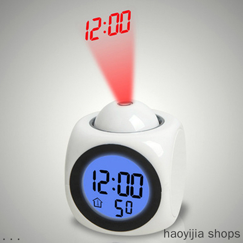 The New Product Is Projected On The Home Dining Table In The Sound Of The Wall Clock Ceiling Decorated By The Alarm Clock Night
