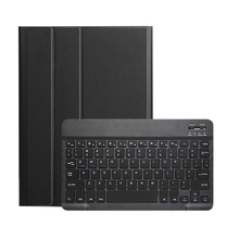 Keyboard Case for Samsung Galaxy Sm-T510 Us Bluetooth Pu Leather Set,Slim Shell Lightweight Stand Cover,Detachable