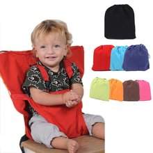Portable Baby Dining Chair Seat Baby Safety Chair Seat Strap Adjustable Chair Seat Color Dining Chair Bag