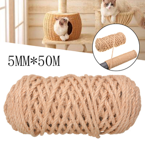 Replacement Sisal Rope For Pet Cat Scratching Post Claw Care Toy Repair Traditional Processing Making Desk Legs Binding Rope