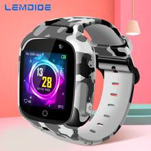 LEMDIOE 2019 600mAH Long standby time Kids smart watch baby with gps wifi sos real-time positioning IP67 waterproof for children(China)