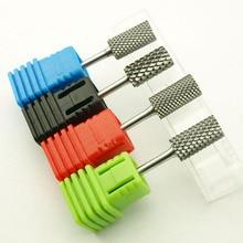 KIMAXCOLA 1 шт. плоская форма твердосплавное сверло для ногтей пилочка для ногтей инструменты для маникюра гель для удаления ногтей Очиститель бит, качество ungsten сталь