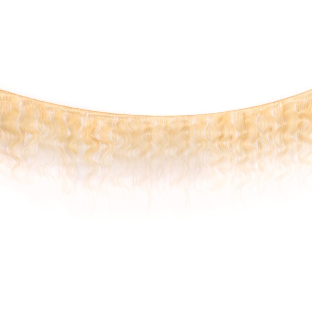 VIOLET Body Wave 613 Blonde bundle Medium Ratio 8\