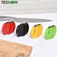 Knife Sharpener Butterfly-Type Knives-Stone Ceramic-Rod Portable Mini Tungsten TESHOM