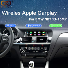 2020 kablosuz Apple Carplay Android otomatik arayüzü BMW serisi 3 F30 F31 F34 serisi 4 F32 F33 F36 NBT muItimedia IOS(China)