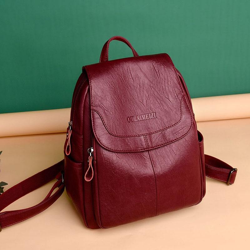 Backpack Women Fashion 2020 Luxury Bag For Women ZDG 328 Women Fashion Big Backpack