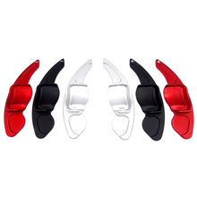 1 Pair Car Accesories Steering wheel shift paddle for VW Tiguan Golf 6 MK5 MK6 Jetta GTI R20 R36 CC Scirocco Shifter Extension