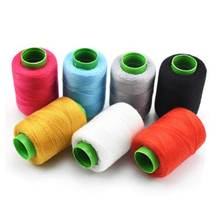 Novo 300 metros de linha do agregado familiar cor fio poliéster vestuário linha costura manual costura grupo malha linha costura