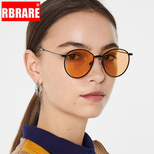 RBRARE 2019 New Metal Marine Women Sunglasses Vintage Luxury Classic Glasses Wom