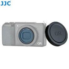 JJC عدسة غطاء تغليف و L39 الترا سليم متعدد المغلفة الأشعة فوق البنفسجية تصفية لريكو GR III GR II GRIII GRII GR3 GR2 حامي عدسة الكاميرا