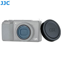 JJC Lens Cap Cover and L39 Ultra Slim Multi Coated UV Filter For Ricoh GR III GR II GRIII GRII GR3 GR2 Camera Lens Protector
