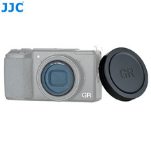 JJC Objektiv Kappe Abdeckung und L39 Ultra Slim Multi Coated UV Filter Für Ricoh GR III GR II GRIII GRII GR3 GR2 Kamera Objektiv Protector