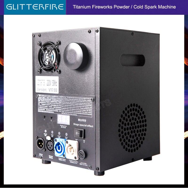 2019 Latest Version 600W DMX Control Stage Titanium Alloy Cold Spark Fountain Wedding Machine