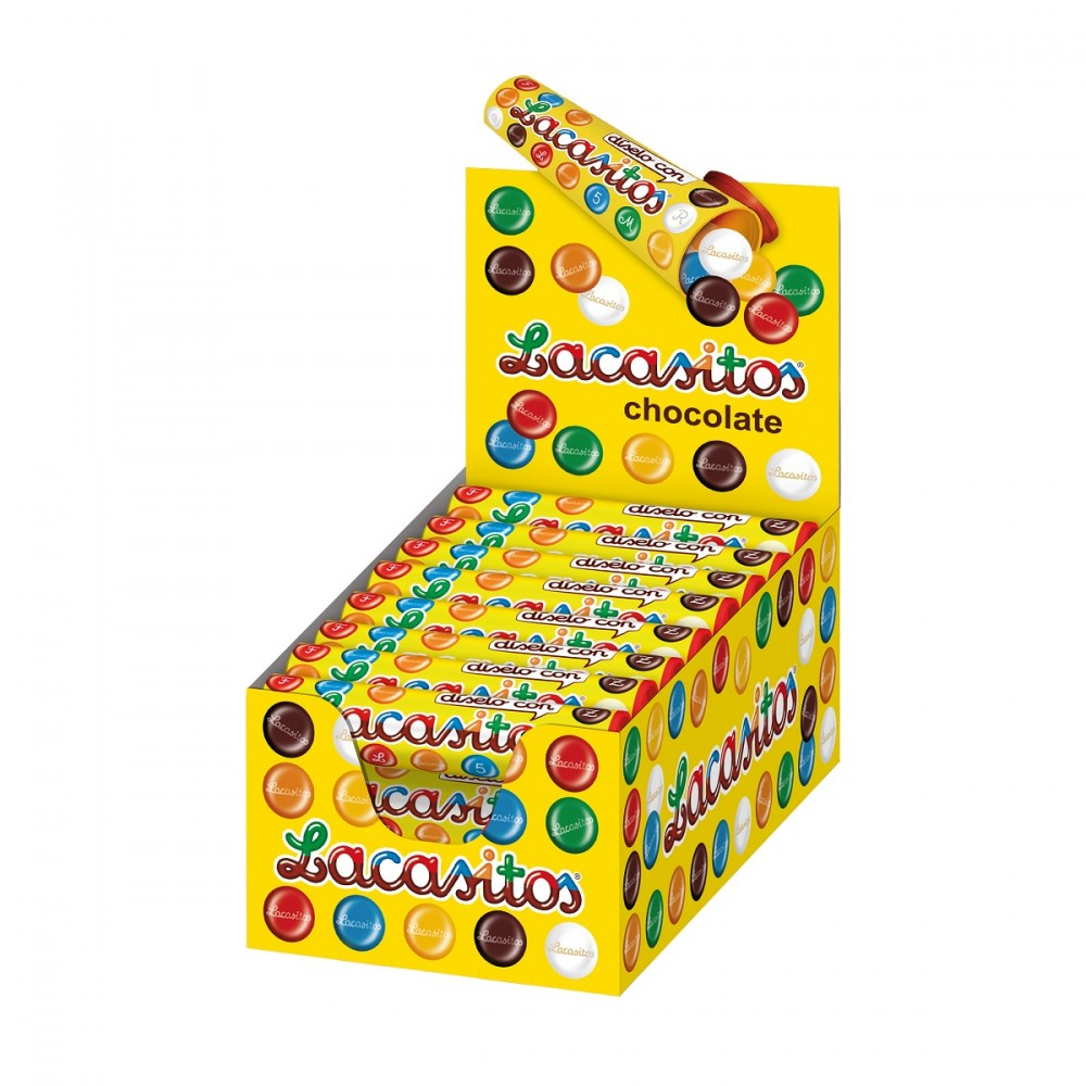 Lacasitos tubes · 24 PCs.