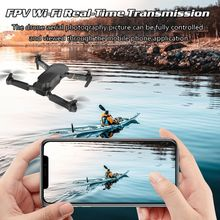 M65 RC Drone with Camera HD 1080P FPV WIFI Altitude Hold Function Selfie Drone Folding Quadcopter