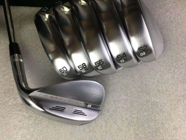SM8 Wedge Gray Color Vokey Design  50 52 54 56 58 60  Degree SM7 Golf Club lob golf wedges with Shaft headcover