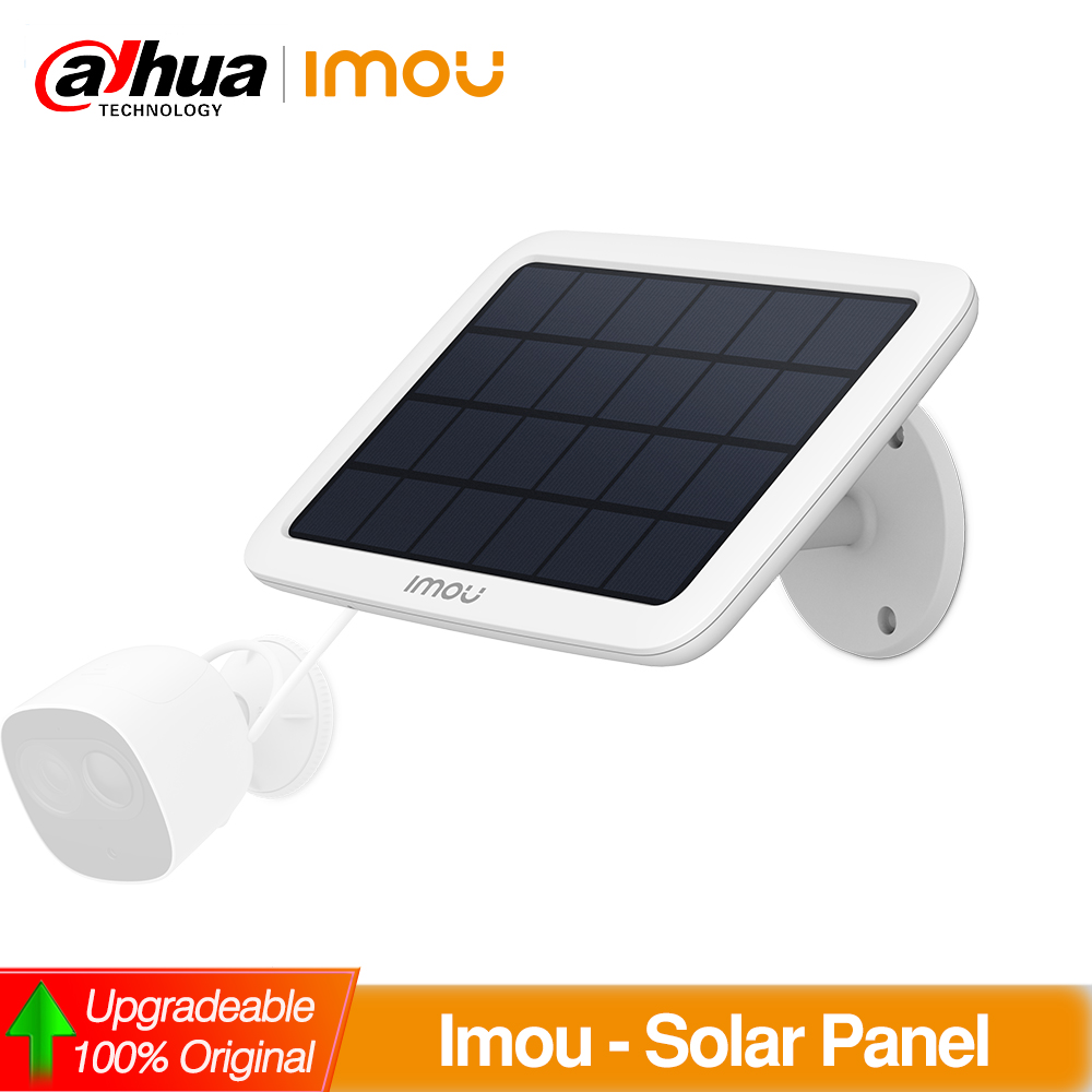 Dahua Imou Solar Panel For Cell Pro IP WIFI Camera Power Supply
