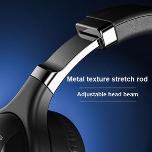 Image 2 - Fones de ouvido sem fio bluetooth com microfone fone de ouvido para jogos bluetooth 5.0 3d estéreo dobrável luz led cartão tf para celular
