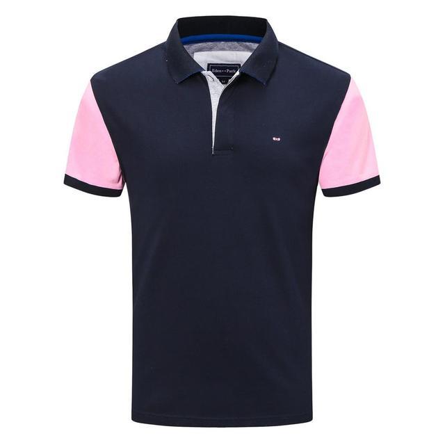 França 2020 100% algodão de alta qualidade dos homens polo camisa manga curta polos moda clássica camisas casuais masculino m a 3xl 1