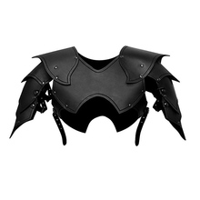 Outfit Party-Costume Angel-Wings Steampunk Halloween Cosplay Black Rave Latex Belt Buckle