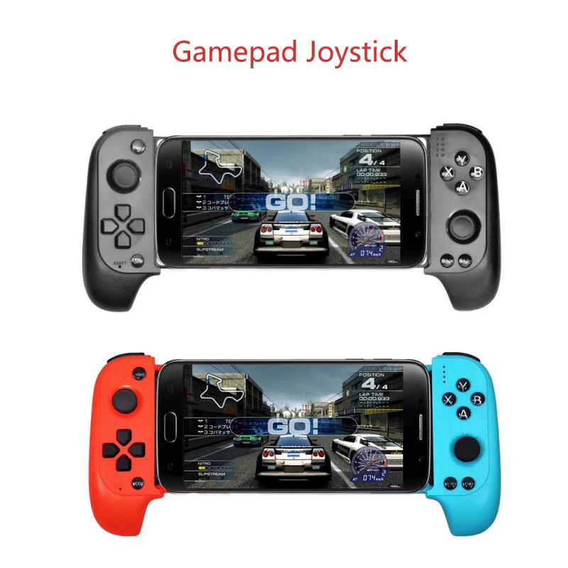 Беспроводной Bluetooth игровой контроллер, обновленный Saitake, телескопический геймпад, джойстик для Samsung/Huawei/VIVO Android IOS IPhone, Новинка