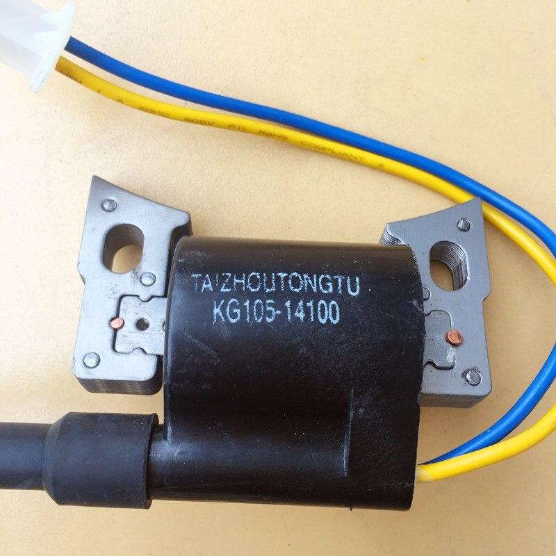 de ignição de alta pressão bloco de peças de motor a gasolina