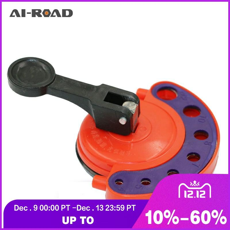 4-12mm Glass Openings Locator Diamond Drill Bit Tile Glass Hole Saw Core Bit Guide With Vacuum Base Sucker Tile