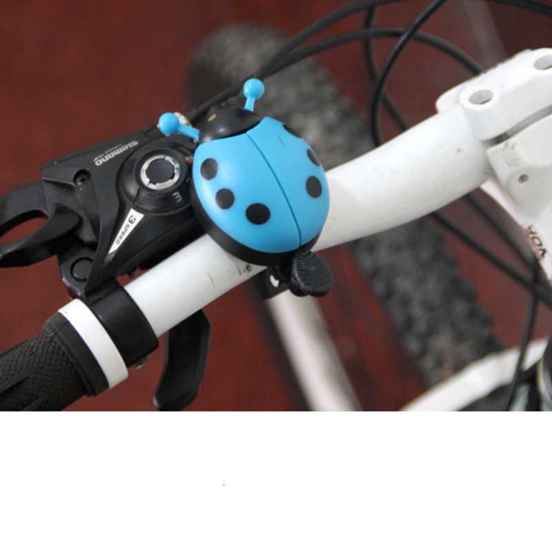 Alliage d'aluminium vélo cloche coccinelle petite cloche Beatle cloche vélo corne alarme accessoire pour la sécurité vtt cyclisme cloches anneau en métal