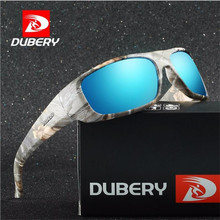 DUBERY Brand Design Mens Glasses Polarized Night Vision Sunglasses Retro Male Sun Glass For Men UV400 sunglasses