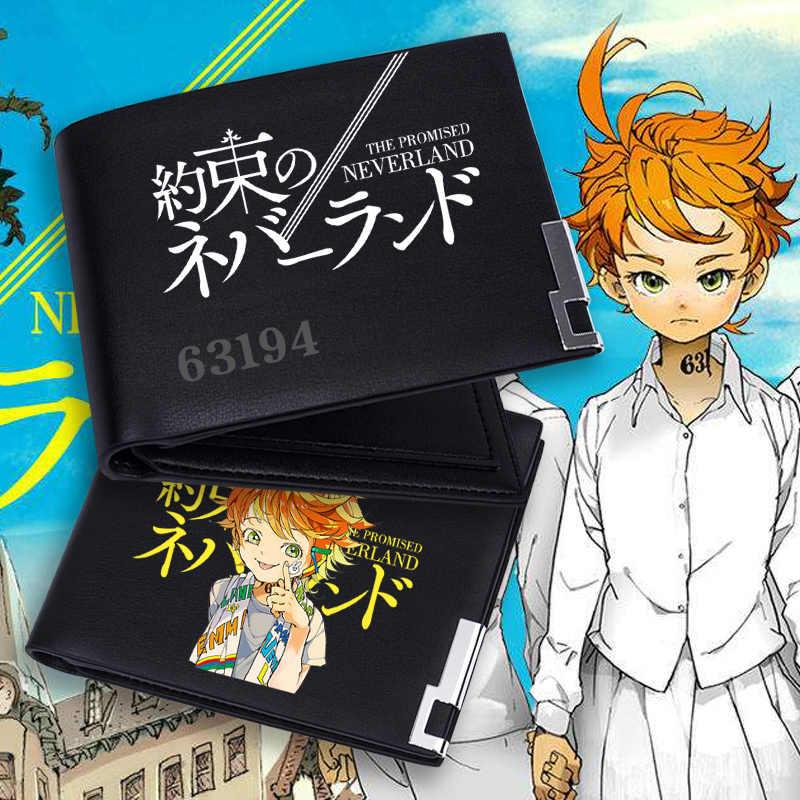 Anime The Promised Neverland Yakusoku No Neverland Emma Norman Cosplay Wallet Short Long Purse Card Holder Billfold Zero Wallet Aliexpress