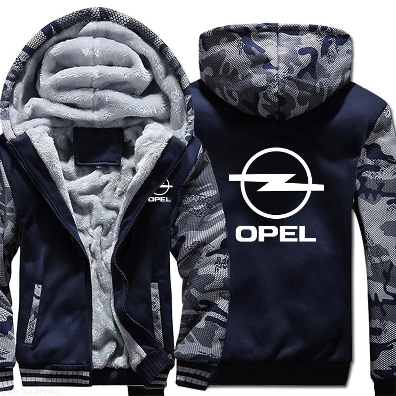 Зимние мужские Новые поступления, повседневные толстовки для Opel, мужские толстовки, зимние теплые мужские куртки