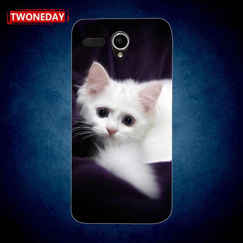 Мягкий Силиконовый Модный чехол с рисунком кота для lenovo S860 A606 A850 A859 A916 S650 S660 S820 S960 задняя крышка