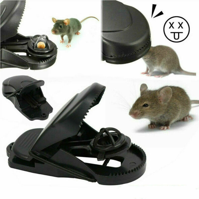 Reusable Catching Rats Rat Traps Rodent Mousetrap Bait Spring Catcher Control Trap Easy Catching Rat Trap