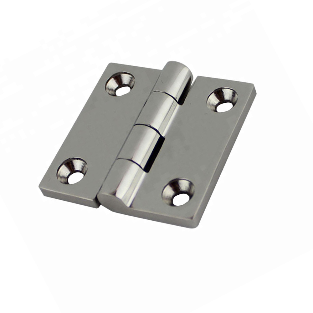 2Pcs Durable 316 Stainless Steel Casting Strap//Door Hinge for Boat Yacht RVs