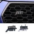 ABT для Audi решетки Стикеры s A6 C6 A3 8P A4 A1 A5 A7 A8 B6 B5 R8 RS8 RS3 S5 Audi ABT решетки Стикеры Авто Наклейка для передней решетки радиатора Стикеры